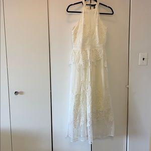 Aqua Midi Dress Size XS